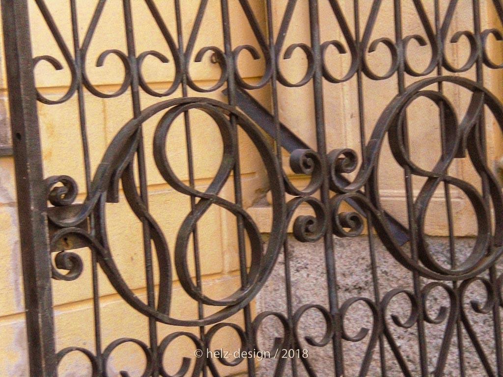 Details am Eingangstor