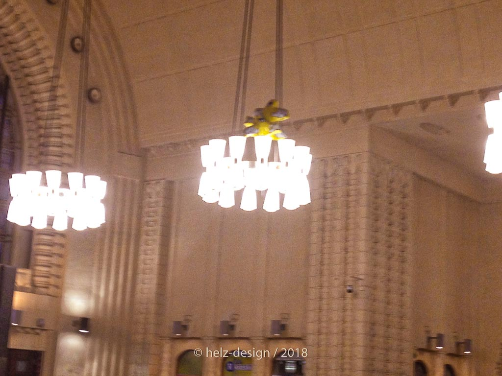 Lampen im Hauptbahnhof