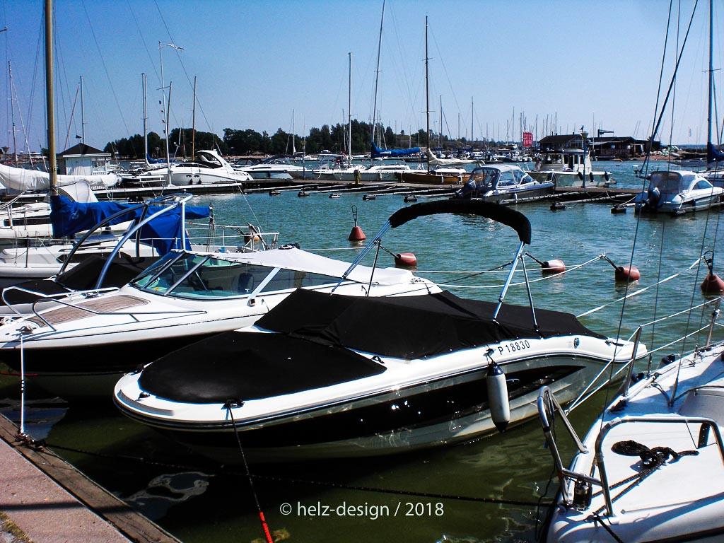 Sportboot an Sportboot