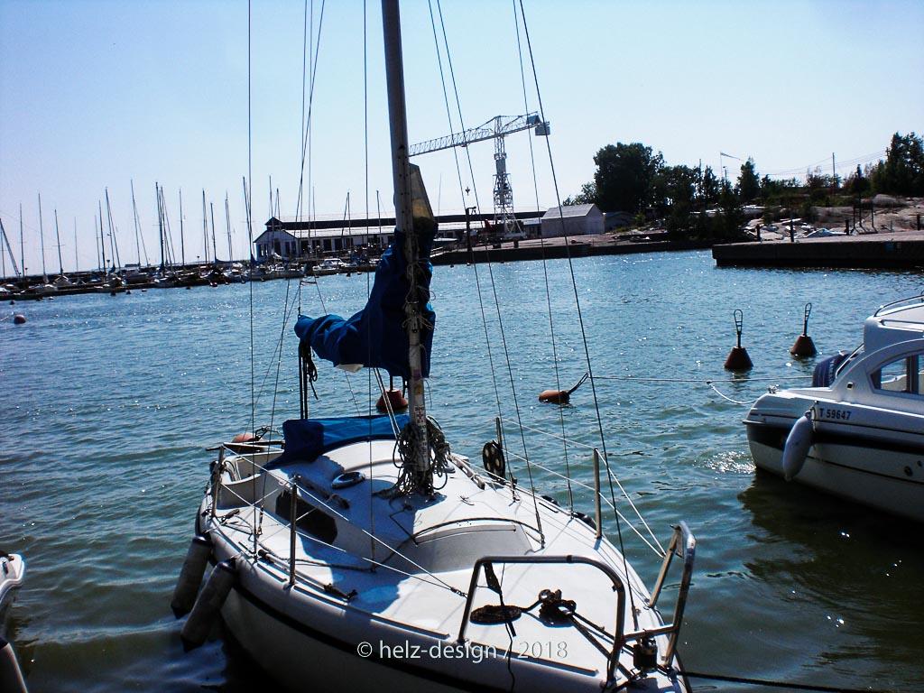 An diesem Boot klapperte ne Leine