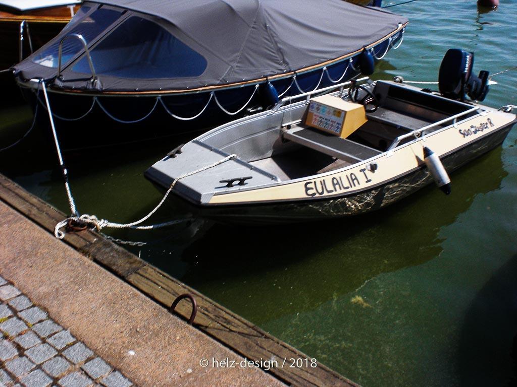 sehr kleines Boot
