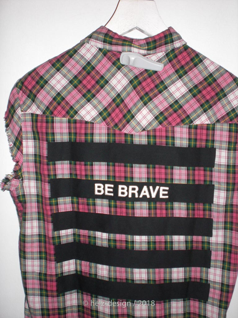 Be Brave – Hemd von hinten
