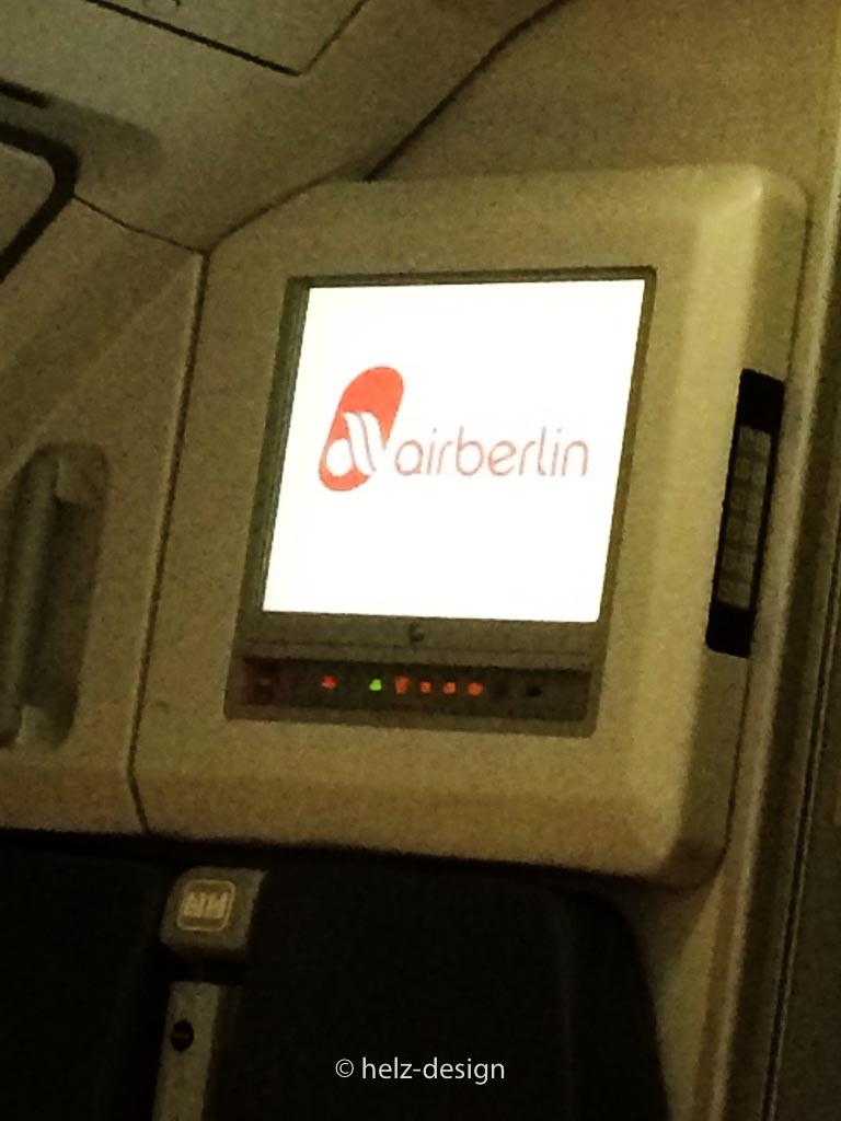 ehemalige airberlin  Maschine