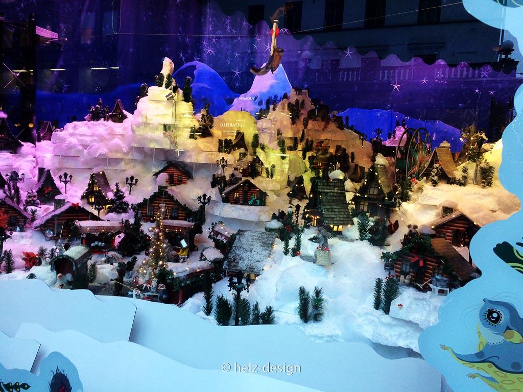Stockmann Weihnachtsfenster … hier drücken sich die Kids die Nase platt