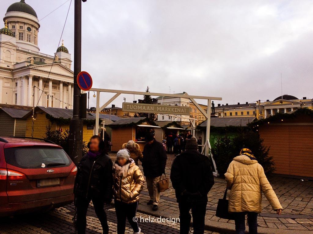 Alle wollen zum Weihnachtsmarkt