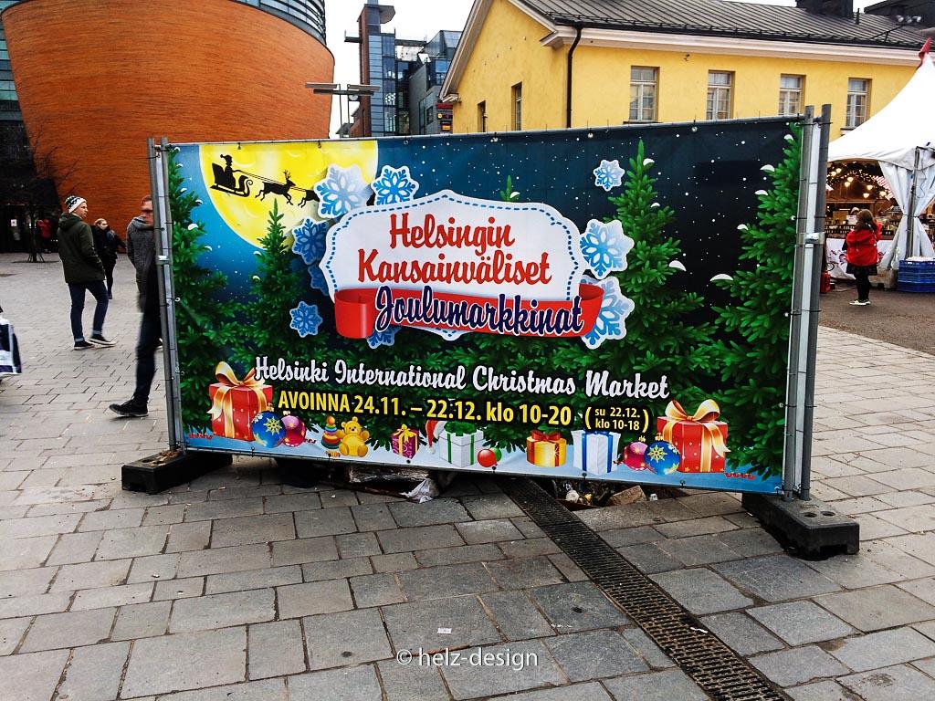 Helsingin Kansaivälistet Joulumarkkinat –Internationaler Weihnachtsmarkt am Kamppi