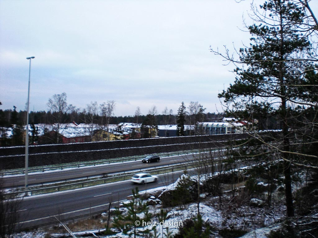 Autobahn nach Lahti