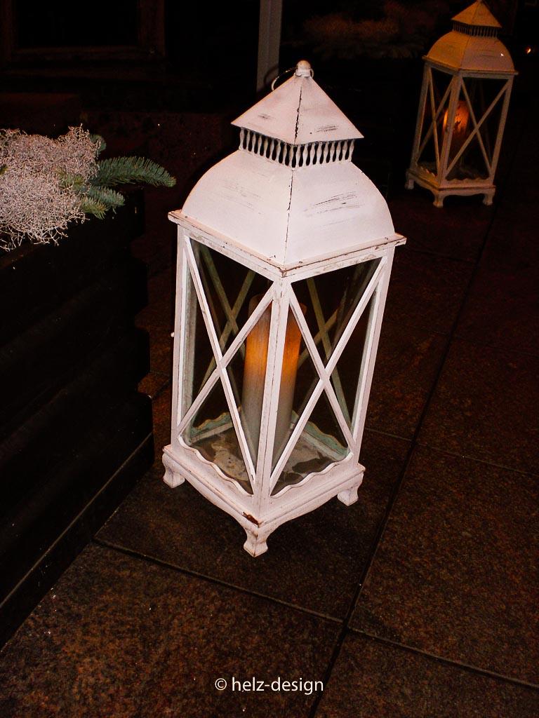 Windlichter an der Fredrikinkatu