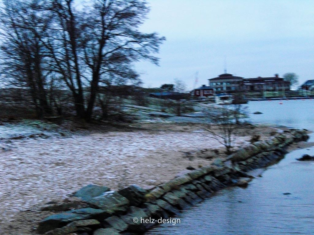 Kanal zwischen Pohjois- und Etelä-Uunisaari