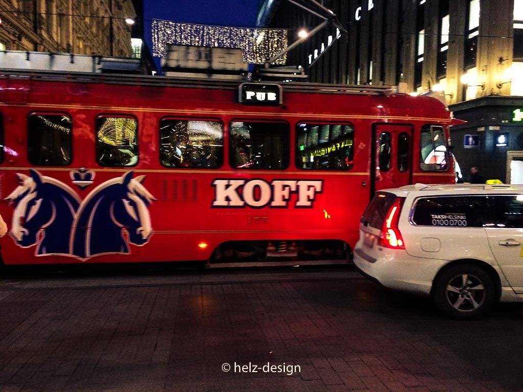 Weihnachtlicher Koff-Train