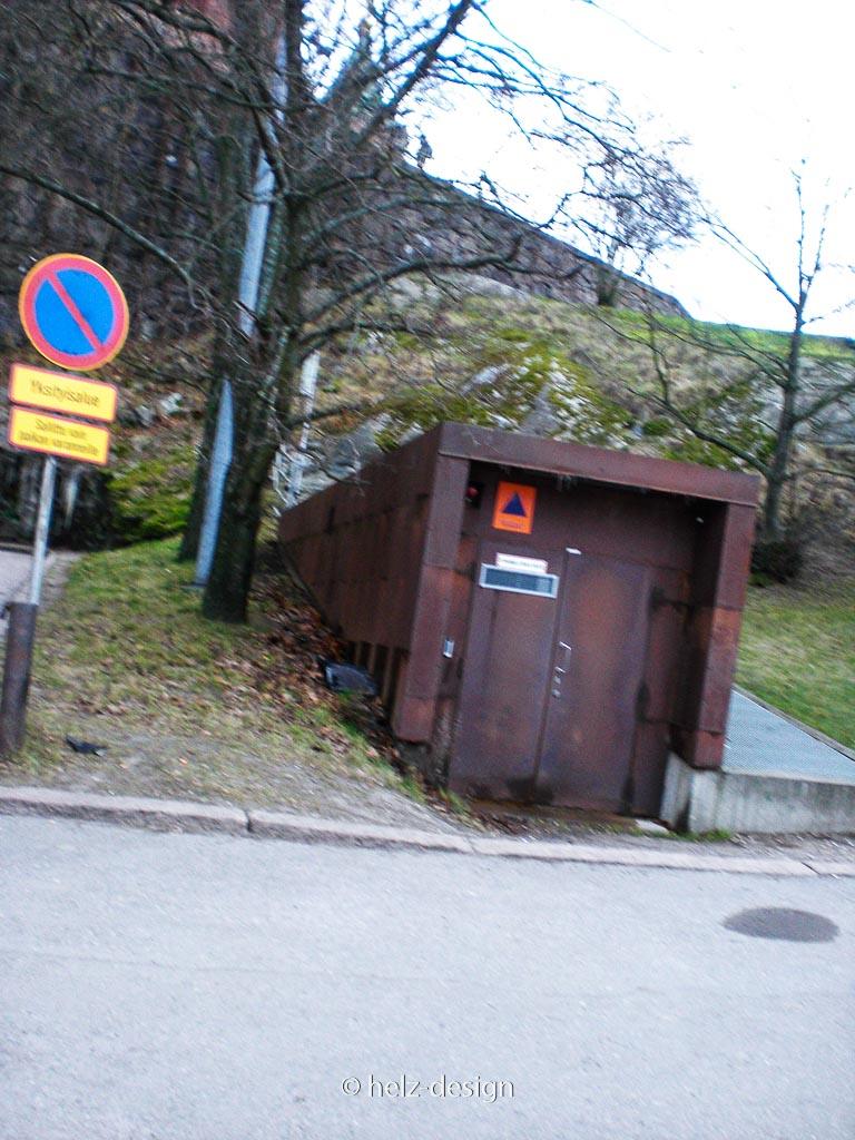 Geheimer Untergrundtunnel unter dem Uspenski Plateau