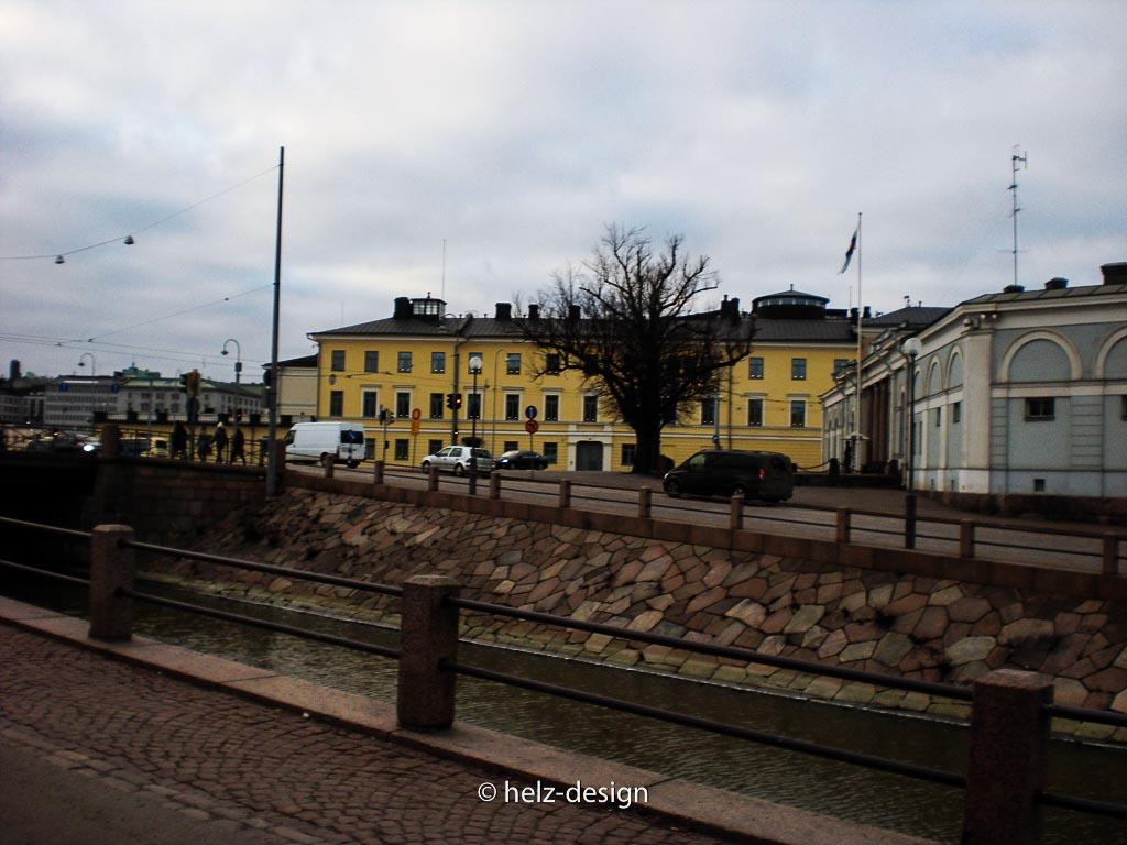 Blick über den Kanal nach Kruununhaka