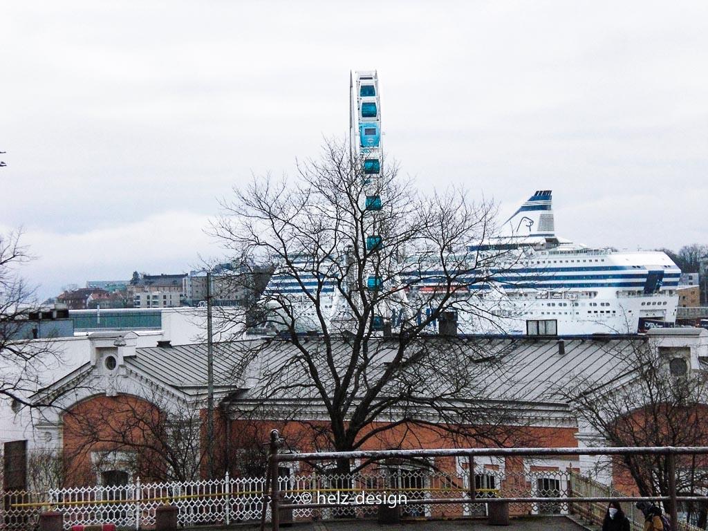 Katajanokka –Sky Wheel –Eteläsatama / Südhafen –Silja Line