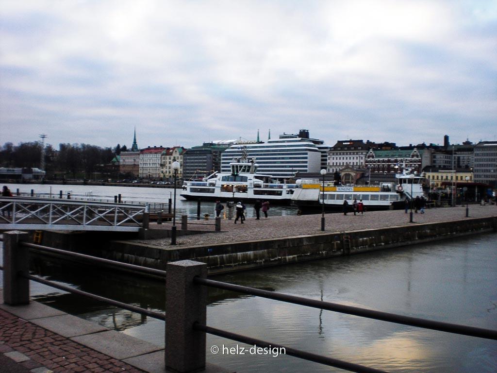 Eteläsatama –Südhafen und Suomenlinnafähre