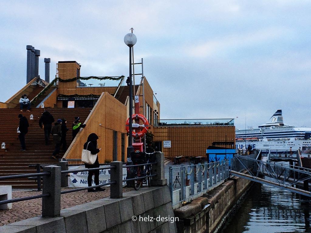 Allas Seapool –im Südhafen, am Kauppatori
