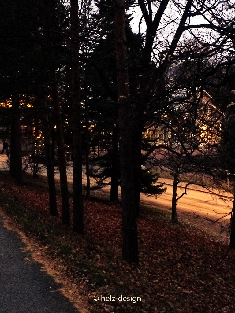 Licht voraus WIntergarten