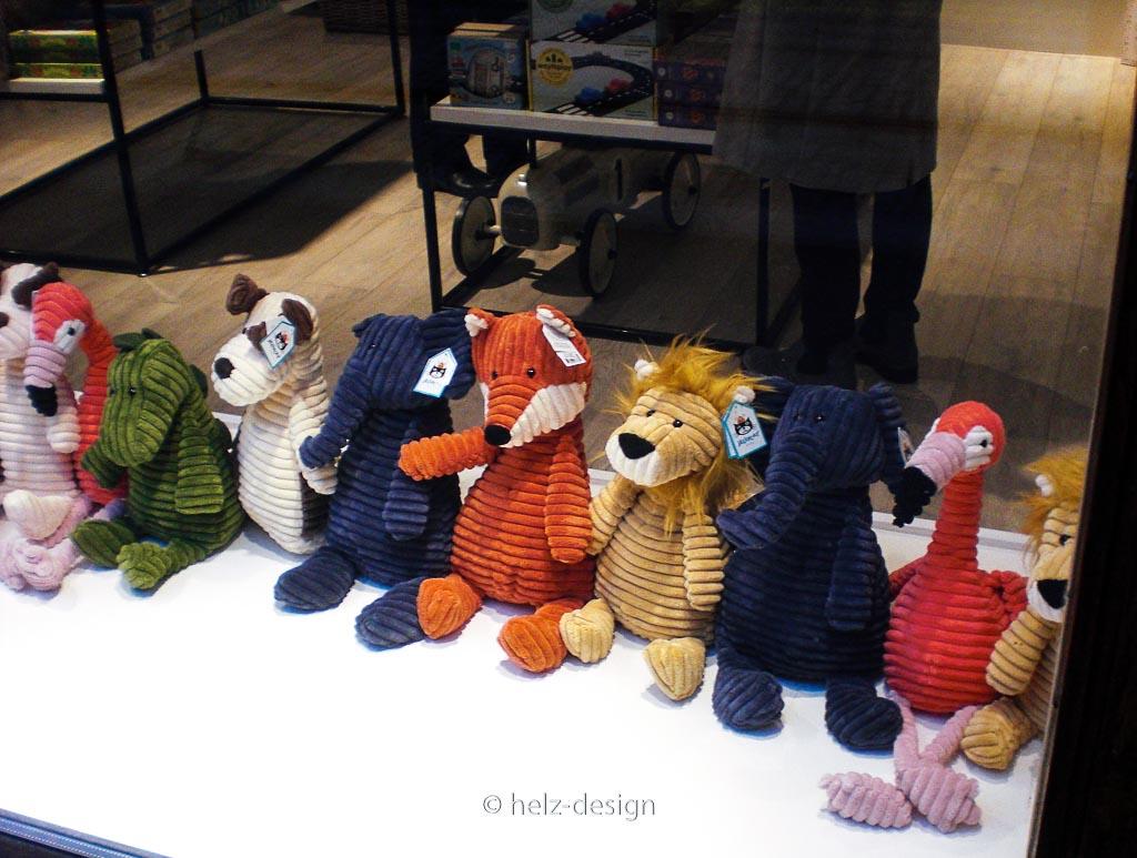 Tierchen im Schaufenster