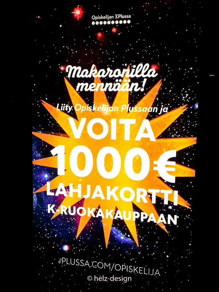 Voita 1000 € lahjakortti – gewinn 1000 €Geschenkgutschein