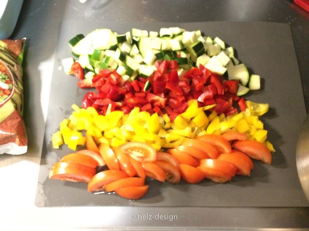 Gemüse fürs Abendessen
