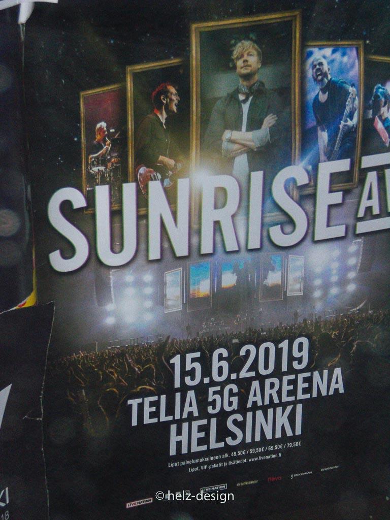 Liisankatu 16 –Endlich Werbung für DAS Konzert der Lieblingsband