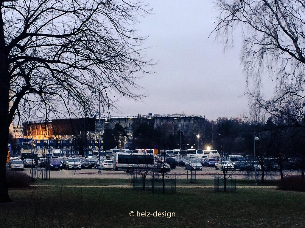 Parkplatz Helsinginkatu vorm Olympiastadion
