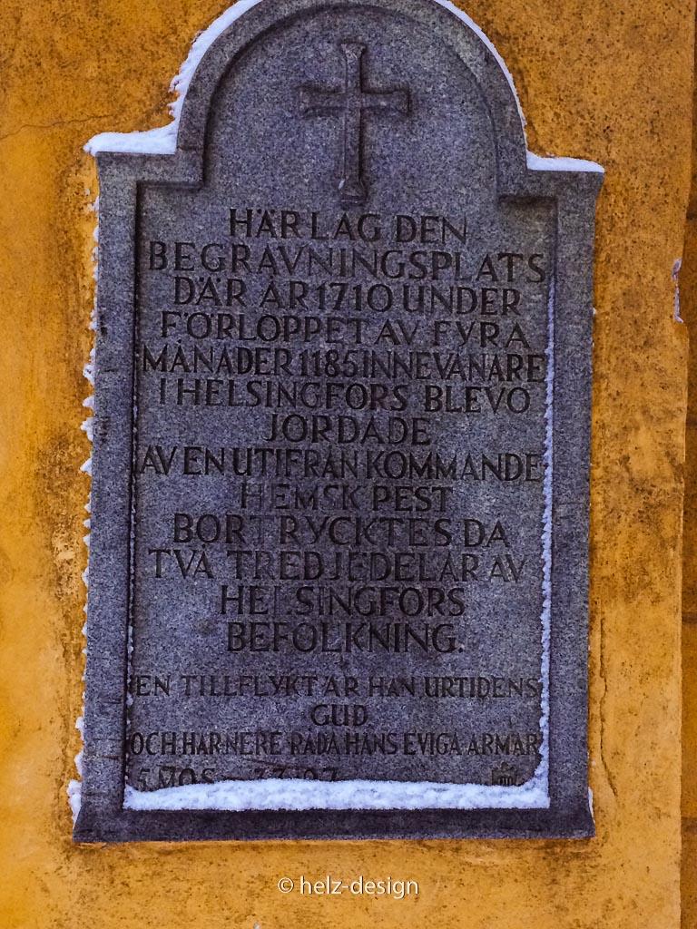 Torinschrift in Schwedisch