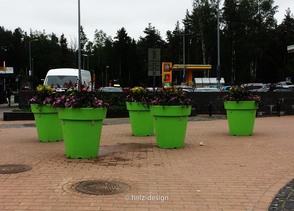 Blumendeko vorm K-Market