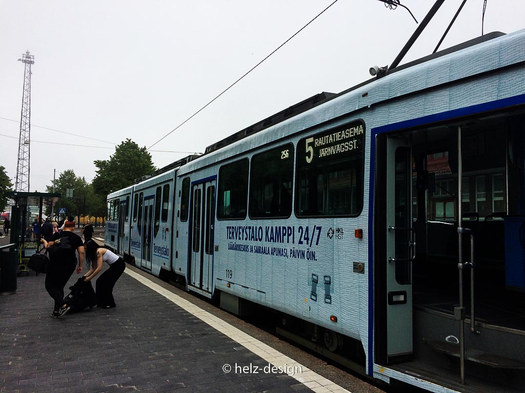 Endstation Tram