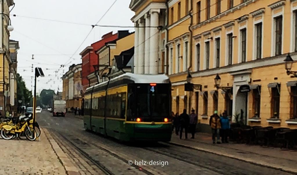 Tram in er Aleksanterinkatu