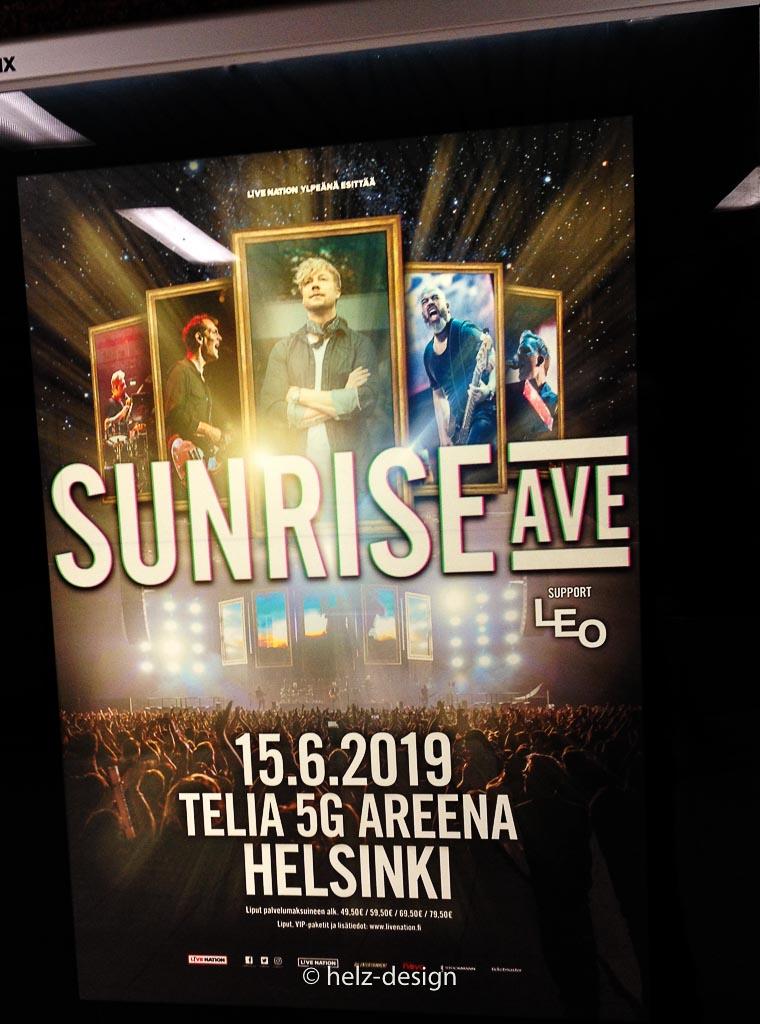 Sunrise Ave Werbung