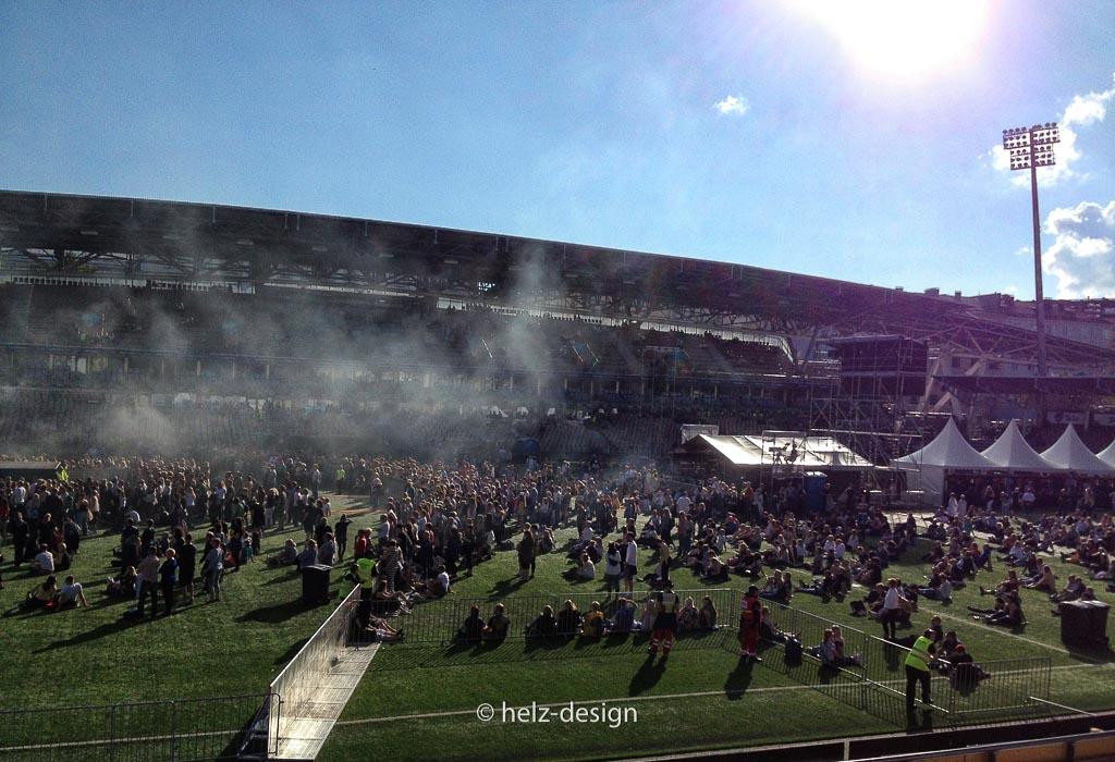 Stadionrundblick