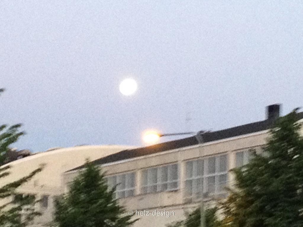 Mond über Kisahalli