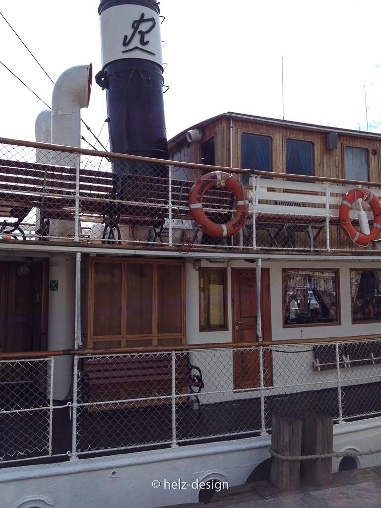 Altes Schiff im Südhafen – Eteläsatama