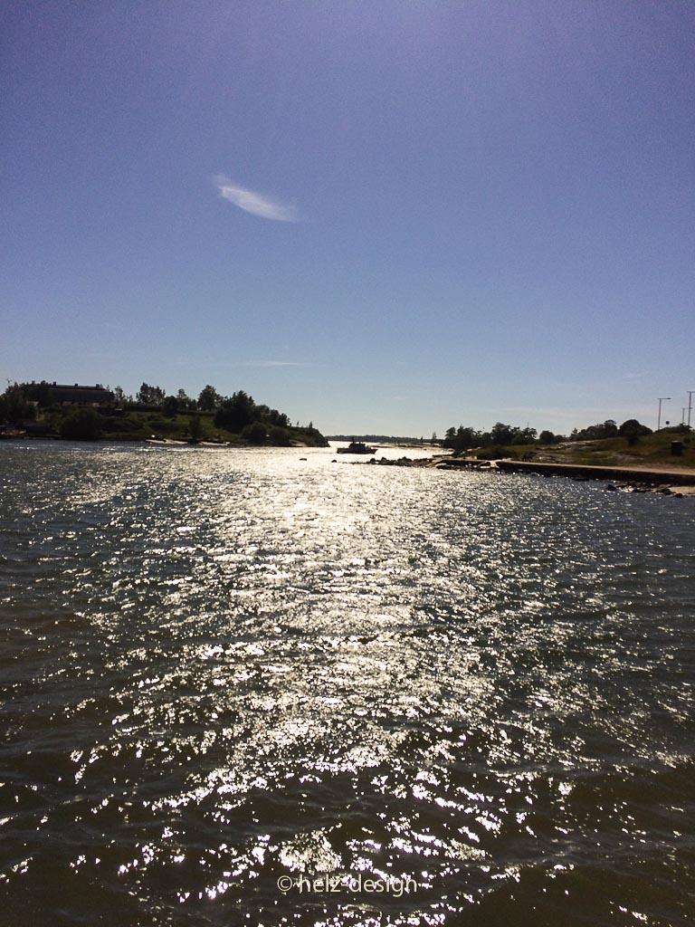 Glitzendes Meer