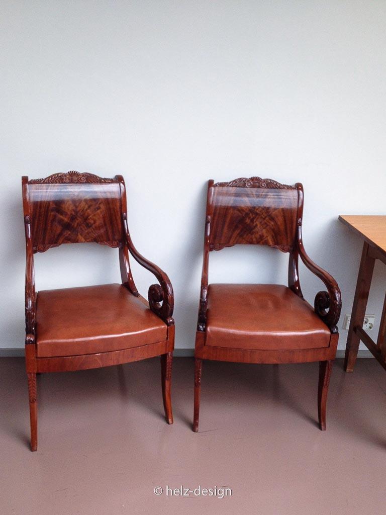 und noch mehr Stühle