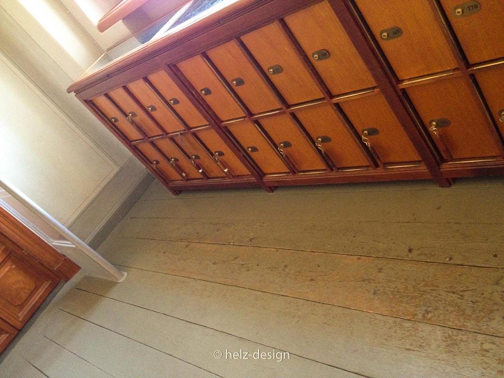 Schließfächer im Foyer