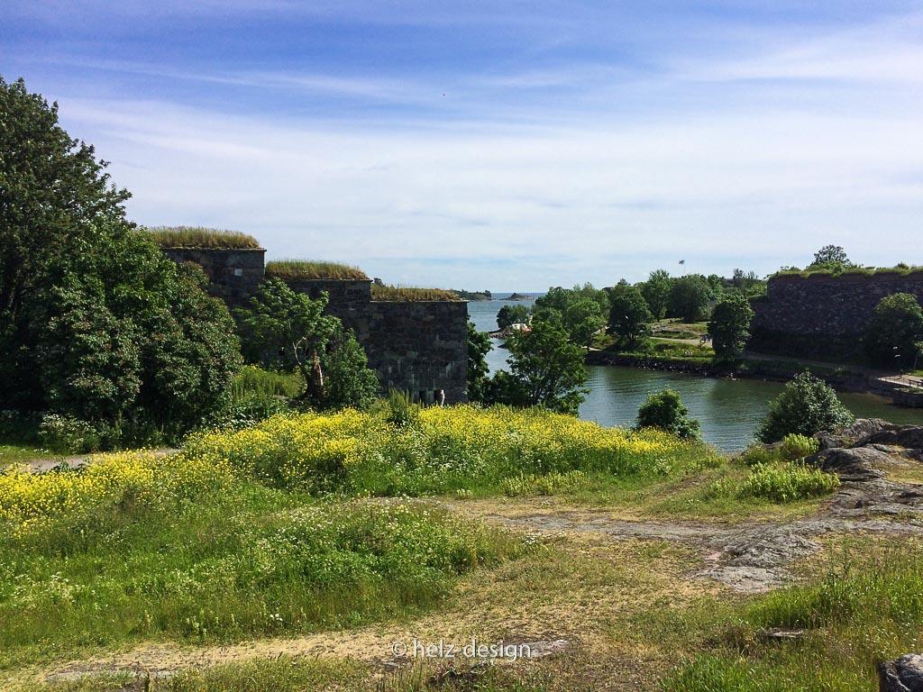 Blick in die Bucht zwischen Iso Mustasaari und Susisaari