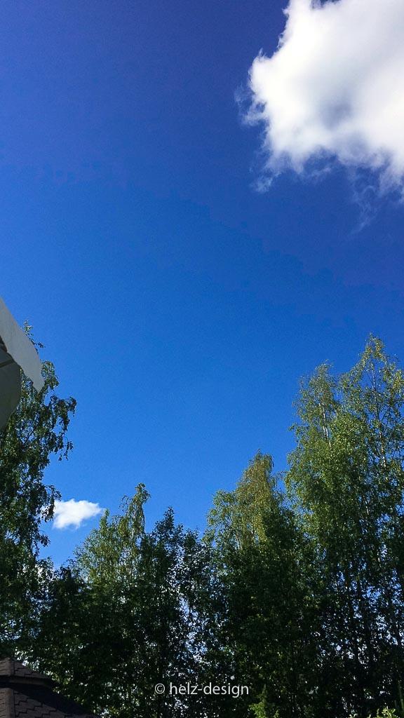 Strahlender Himmel in Jouppi