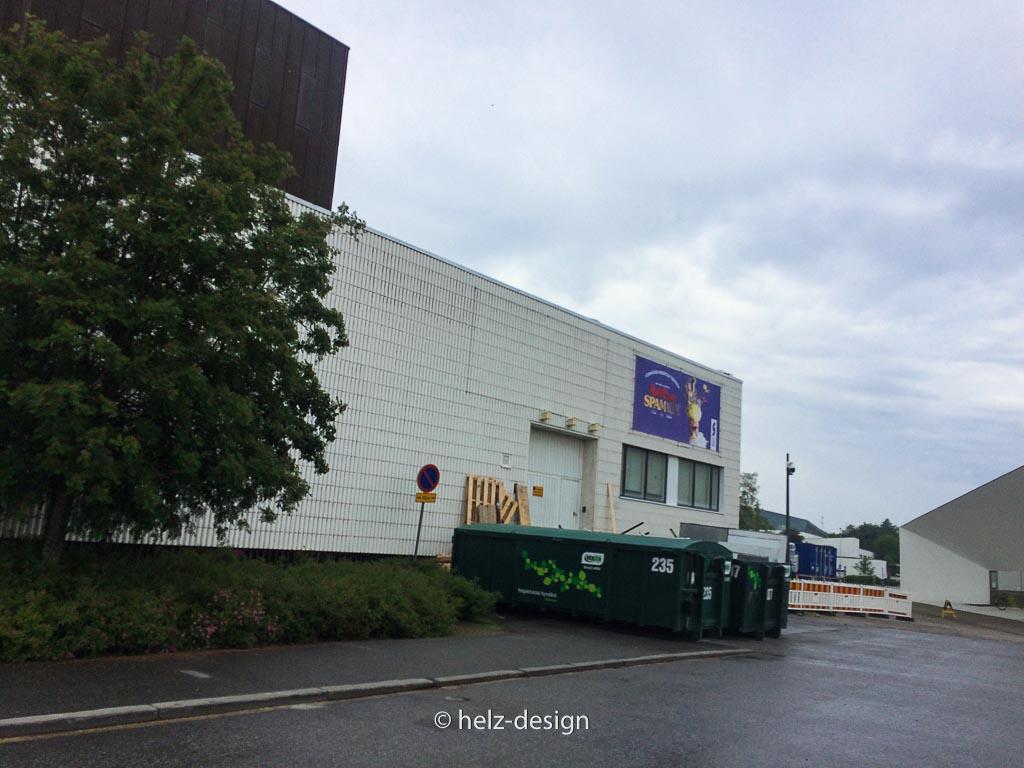 Seinäjoen kaupunginteatteri – mehr so von hinten