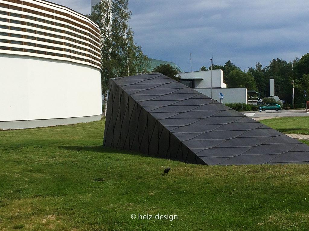 Geheimisvolle Bauten im Aalto Center