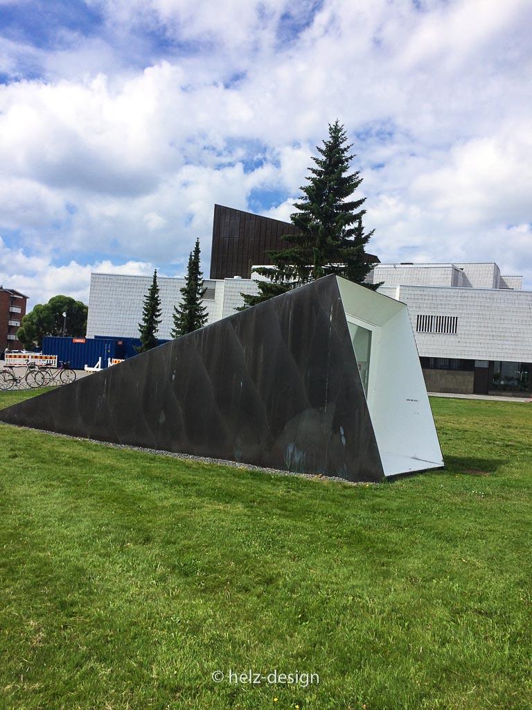 Geheimnisvolle Bauten im Aalto Center