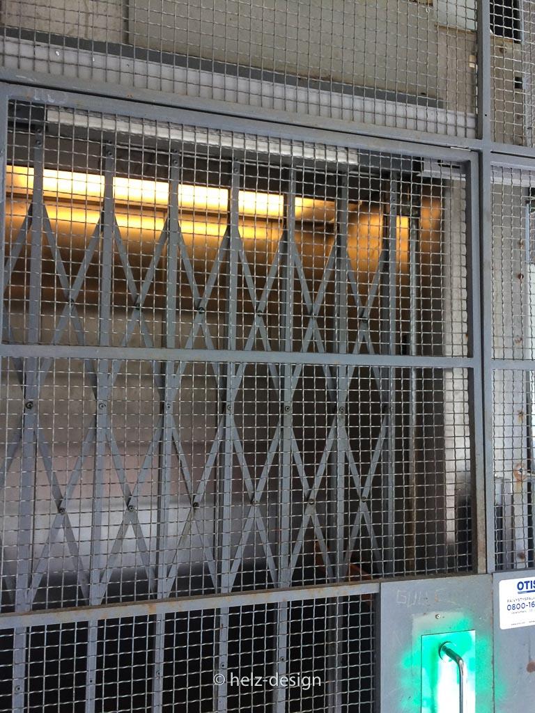 Eingang zum Fahrstuhl