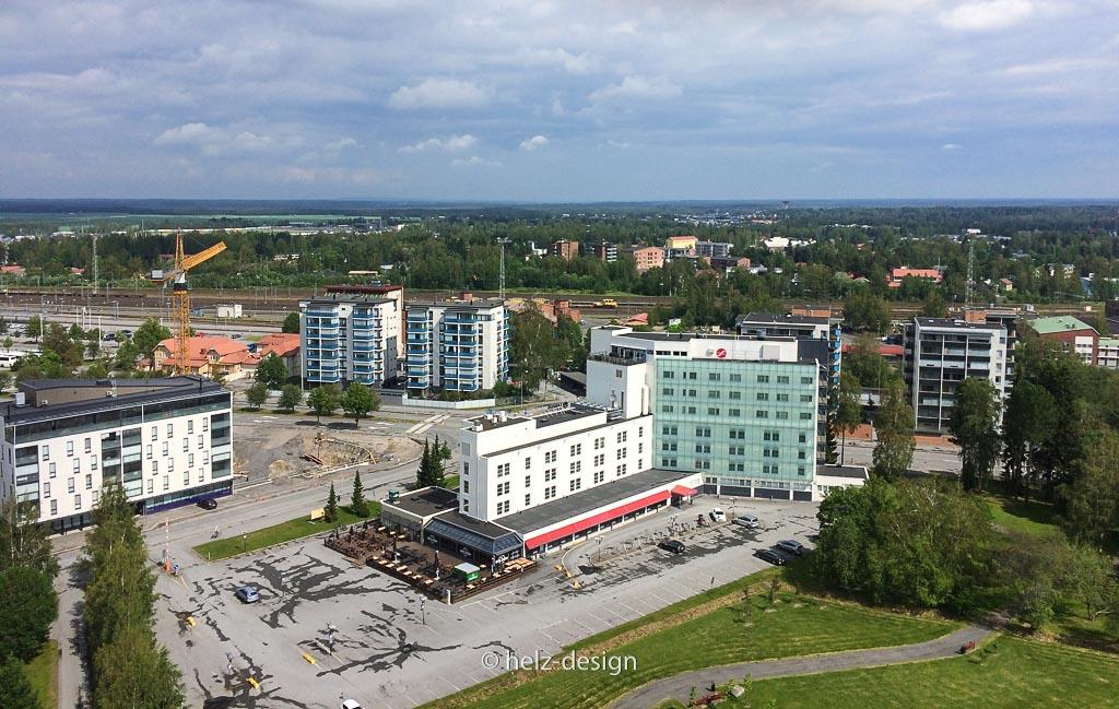 Zentrum und Sokos Hotel Lakeus