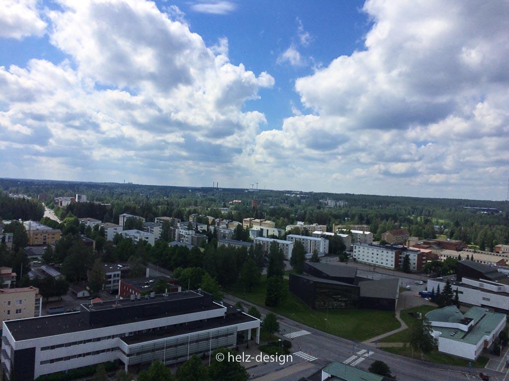 l: Kirchenzentrum r: Aalto Center