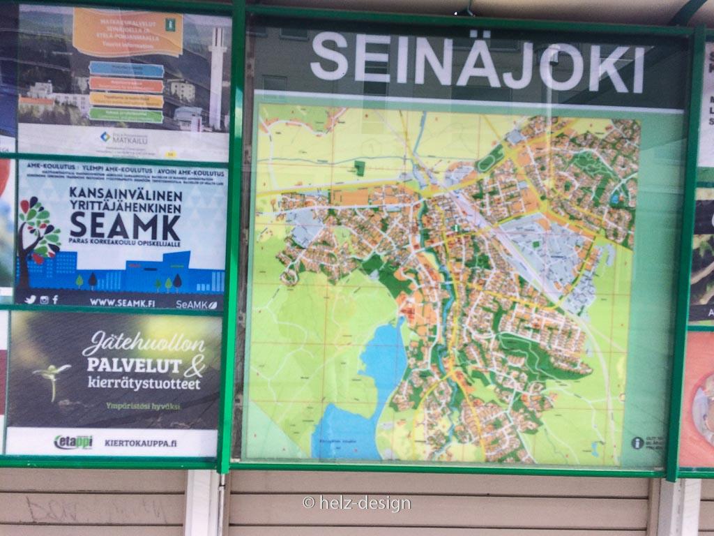 Stadtplan Seinäjoki