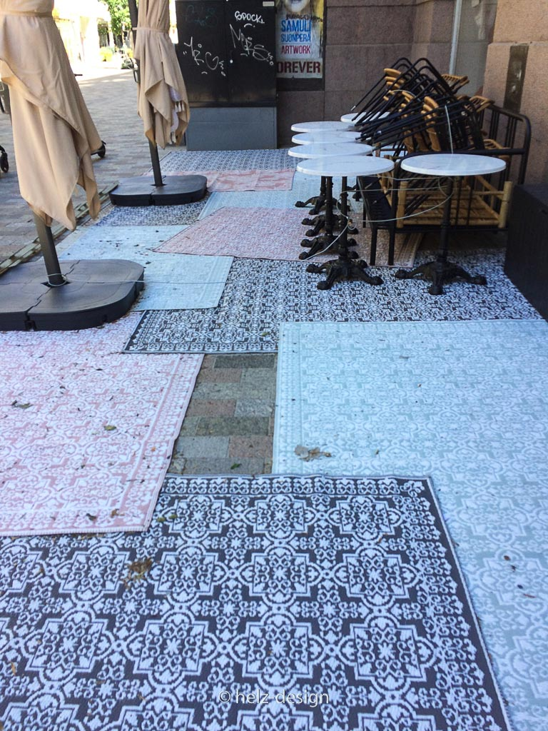 Echter Teppich auf der Iso Rooba