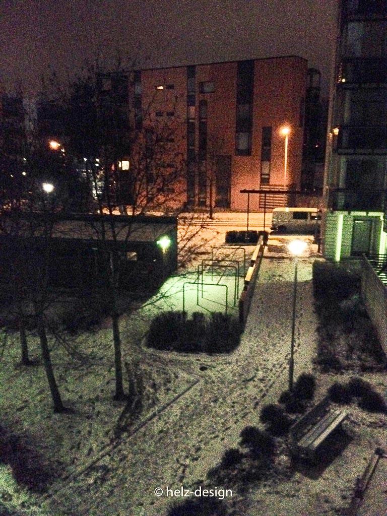 Schnee in Kivikko