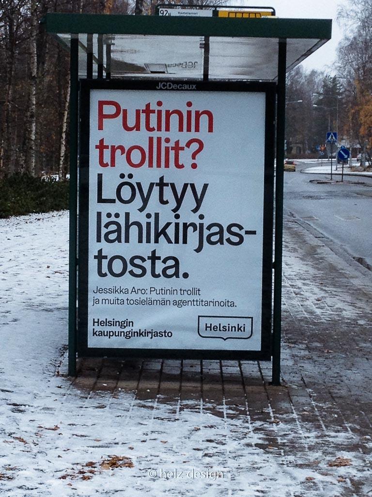 Putin's Trolle? Findest du in de nächstgelegenen Bibliothek!