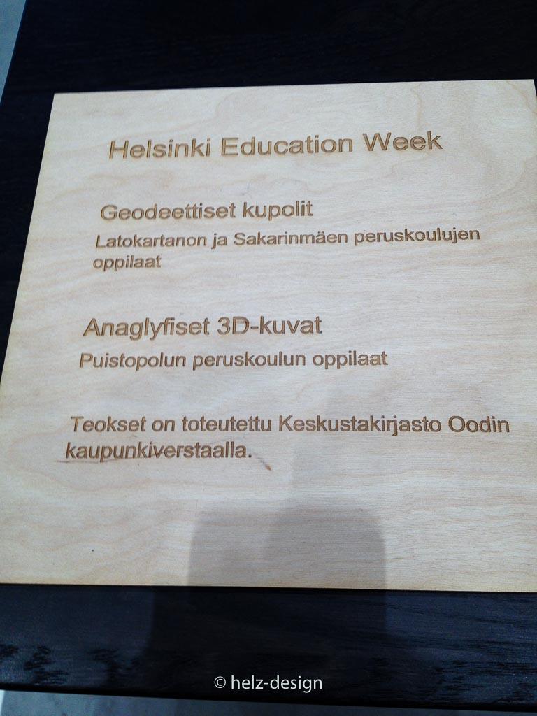 Ausstellung in Oodi