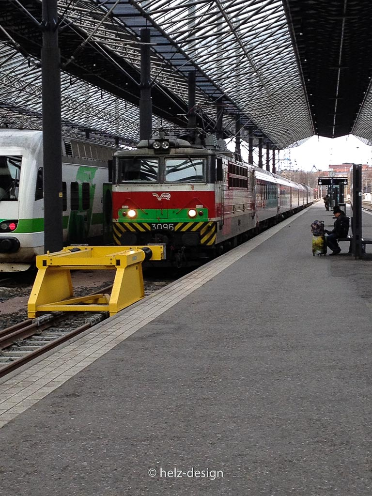 Zug nach Moskau